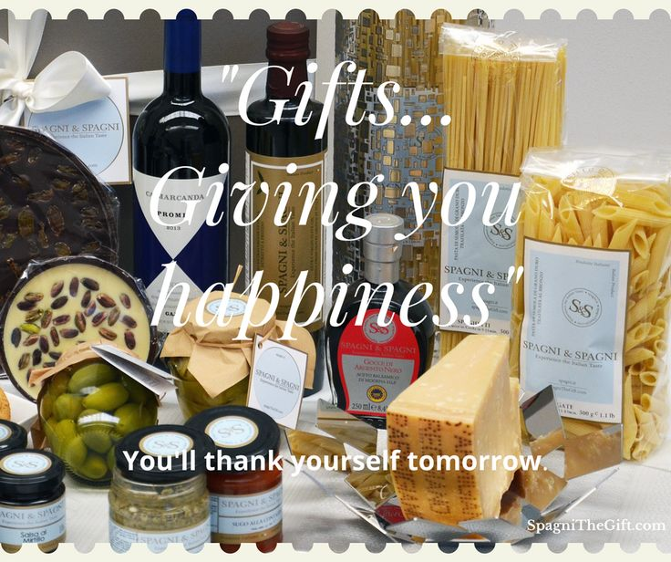 🎁 GIFTS GIVING YOU HAPPINESS  ☺ You'll THANKS Yourself tomorrow #spagniexperiencetheitaliantaste #foodgifts  #foodhamper #giftbox #gifts   🔔Subscribe now  😉 https://goo.gl/Ev61gl  🔔