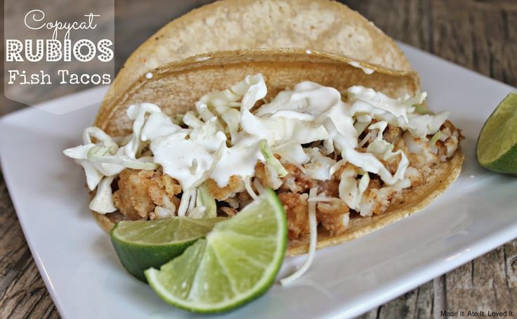 Best 25 rubios fish tacos ideas on pinterest rubios for Best fish taco recipe