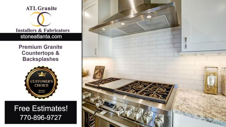 Stone Atlanta Granite Countertops. Elegant premium quality! ATL Granite Installers Contractor licensed & experienced. Free In-home estimate! 770-896-9727