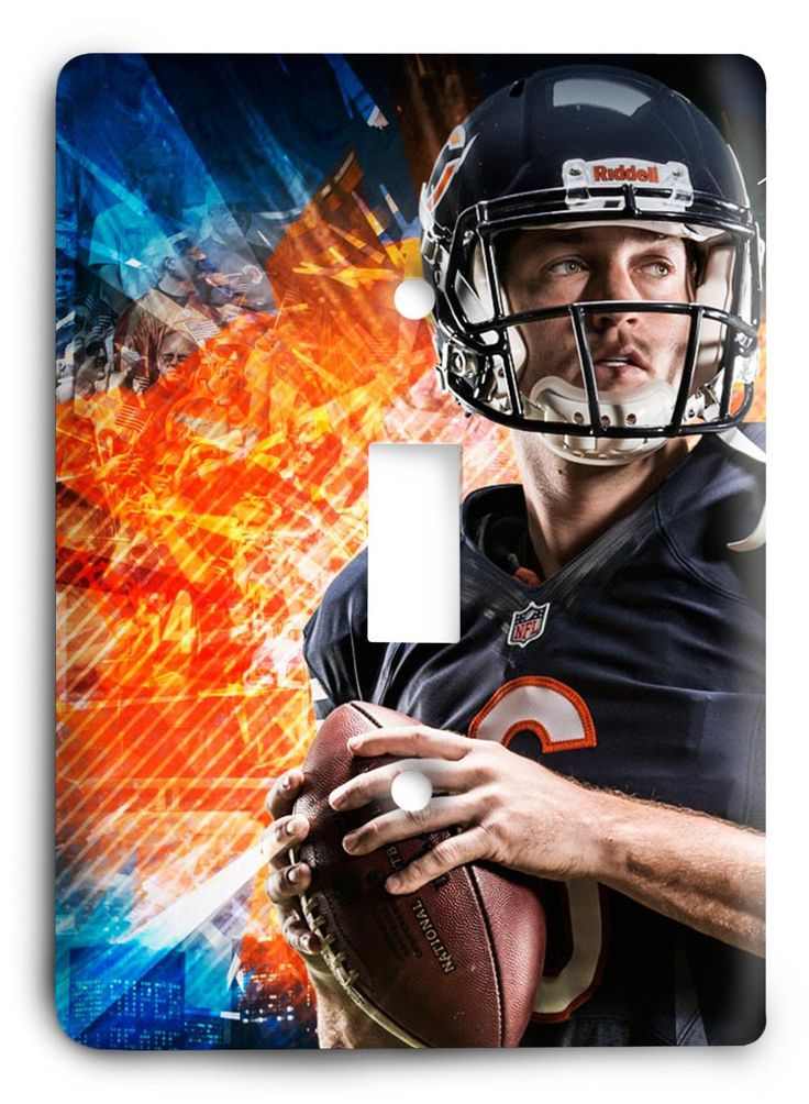 Jake Cutler Chicago Bears STRONG Light Switch Cover