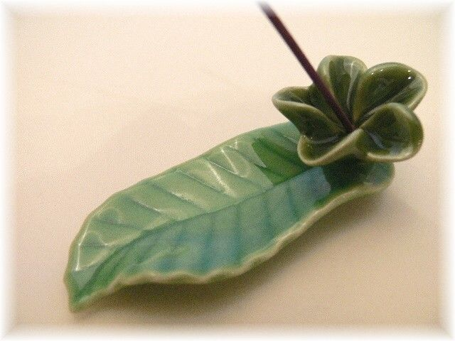Incense Holder Plumeria