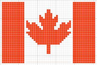 Luvs 2 Knit: Canada Flag, Canada Maple Leaf, Olympics, Charts By Luvs2knit