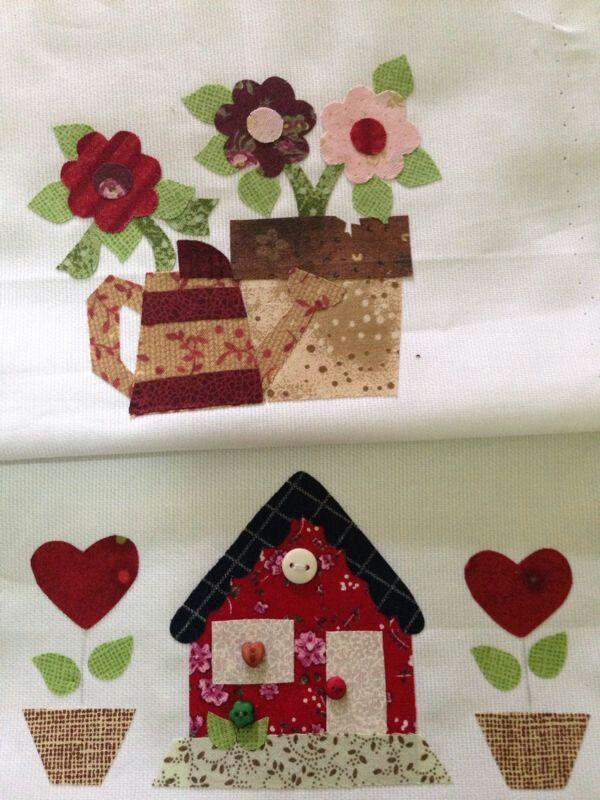 60 mejores ideas sobre curso de costura en pinterest - Casas de patchwork ...