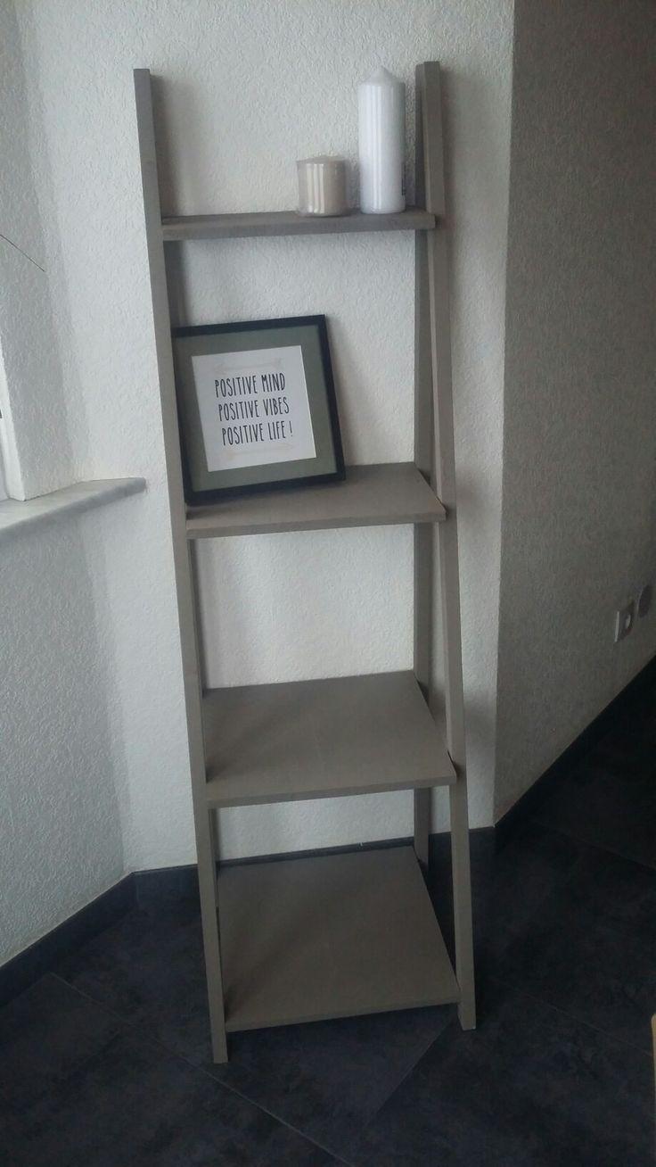 1000 ideas about etagere echelle on pinterest ladder shelves and echelle - Echelle etagere ikea ...