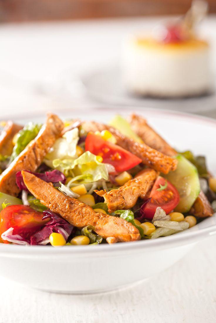 Soyalı Tavuk Salata
