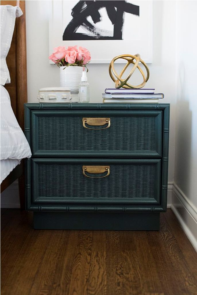 pier 1 mirrored bedroom furniture wall king reviews wicker nightstand one
