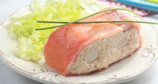 Receta de Pastel de salmón y Salsa Cocktail Ybarra