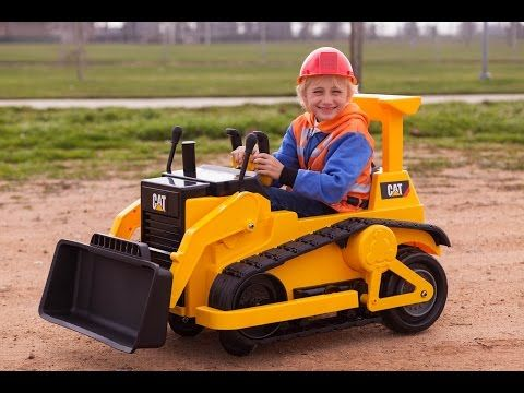 Heavy Construction News - Cool Bulldozer Toy for the little ones - Copenhaver Construction Inc
