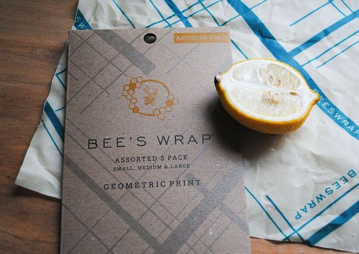 Bee's Wrap, et miljøvennlig alternativ til plastikkfilm og alufolie.
