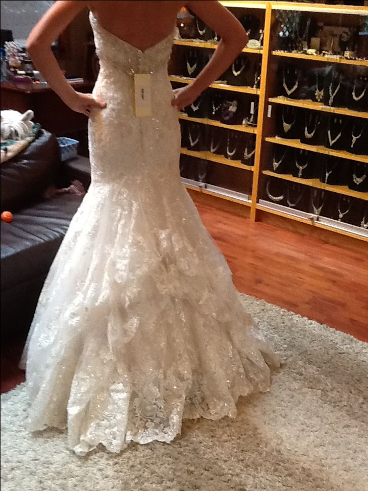 28 best WEDDING: Dress Bustle images on Pinterest ...