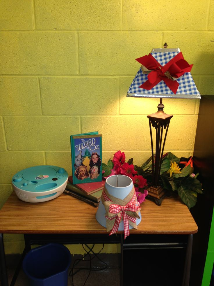 Wizard Of Oz Lamp Shades For Jennas Room