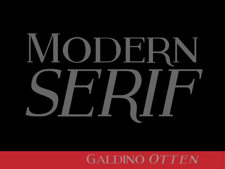 Modern Serif Font Family · 1001 Fonts