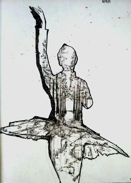 Sketch of shadows#I am SONIYA Erdenesaikhan#my artworks 2016