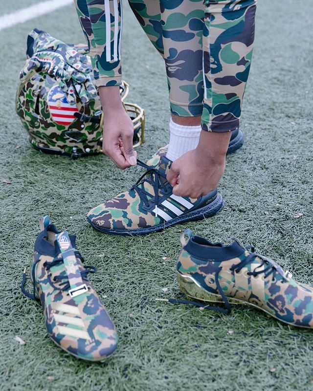 6e69558f3fdca BAPE x @adidas' football collection is dropping today - you copping or  passing? : @livestockcanada