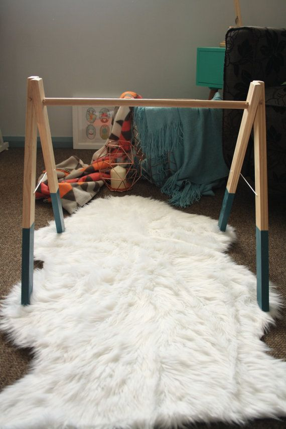 Hand crafted multipurpose timber rack  Aqua by DitherandDot