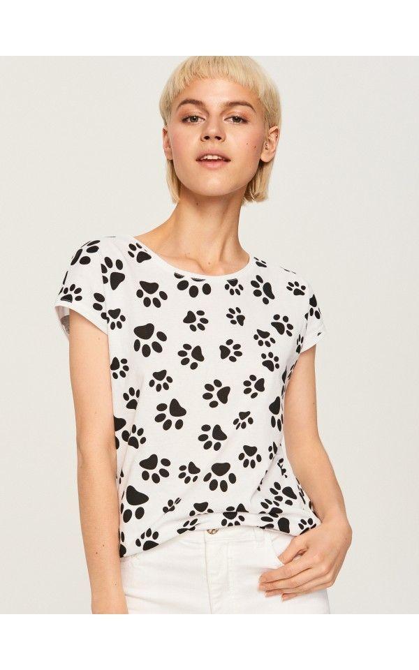 9d6a3bbfe6 Vzorované tričko