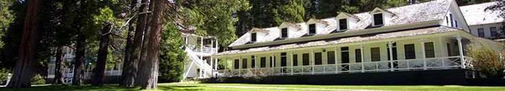 Wawona Hotel in Yosemite National Park...I was at the park, but want to go back and stay at this place...so nostalgic!