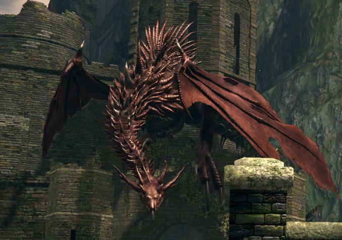 Dark Souls: Hellkite Dragon