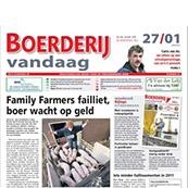 ...als stagiaire bij Boerderij begonnen en vervolgens als redacteur bij het Agrarisch Dagblad gewerkt..héél lang geleden