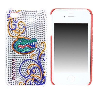 Blinged out Gators iPhone cover