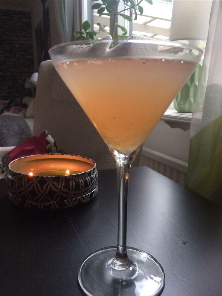 Alkoholfri rabarberdrink