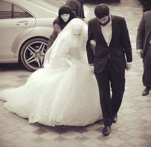 Muslim bride n groom