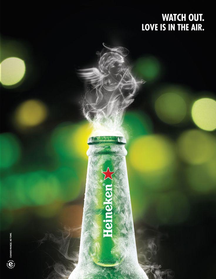 Heineken   Ten cuidado. el amor está en el aire