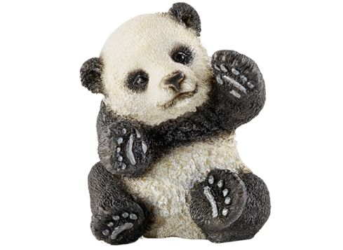 Kjøpt/fått  SCHLEICH 14734 lekende pandaunge (hos Bl.a toys R us)