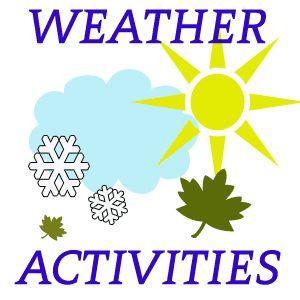 Weather Activities - http://www.preschoollearningonline.com/weather-activities.html  #activitiesforkids #preschool