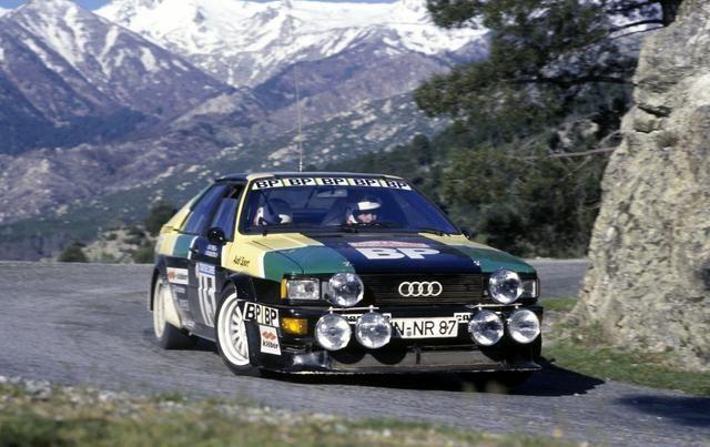 M. Mouton - Audi Quattro (Tour de Corse 81)