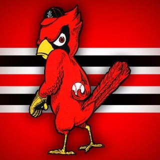 St.Louis Cardinals. My fav cards logo