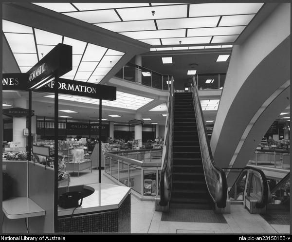Sievers, Wolfgang, 1913-2007. Miranda shopping centre, Sydney, architects: Tomkins, Shaw & Evans (4) [picture]