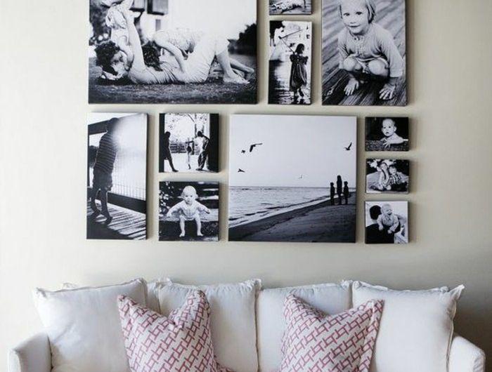 Einrichtung Schwarz Weiss Kontraste Kreieren. die besten 25+ couch ...