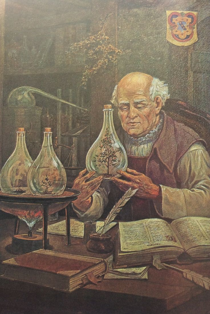 17 best images about notes on alchemy chemistry modern science paracelsus performing the experiment of palingenesis creation of a new universe see also