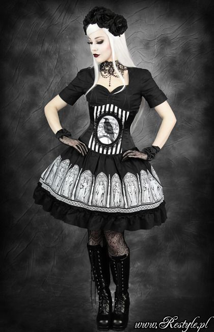 Restyle - Fantasy Raven - Corset [RE-FANRAVEN-C] - £48.99 : Gothic Clothing, Gothic Boots & Gothic Jewellery. New Rock Boots, goth clothing & goth jewellery. Goth boots and alternative clothing Ooooohhhhhhh