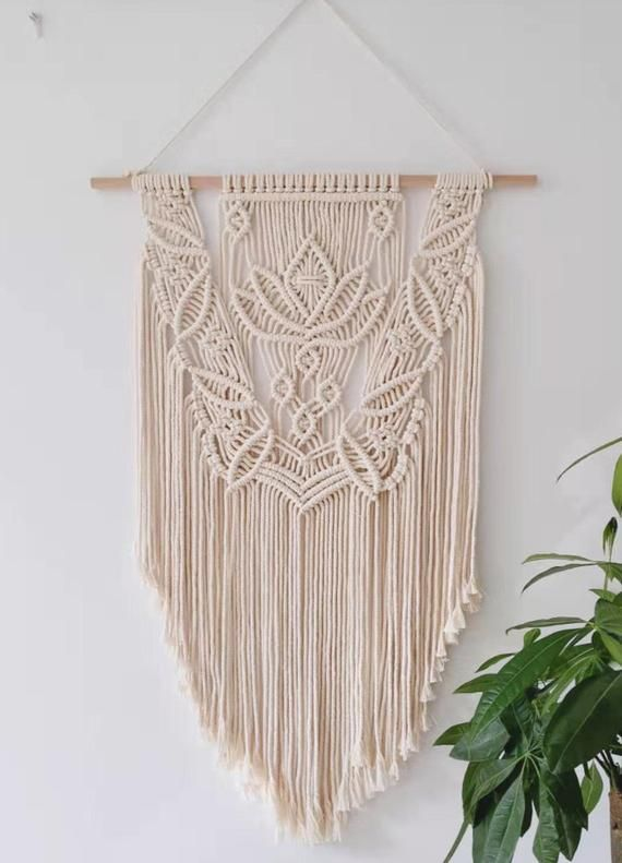 Hand Crafted Wall Hanging Macrame Tapestry Wall Decor