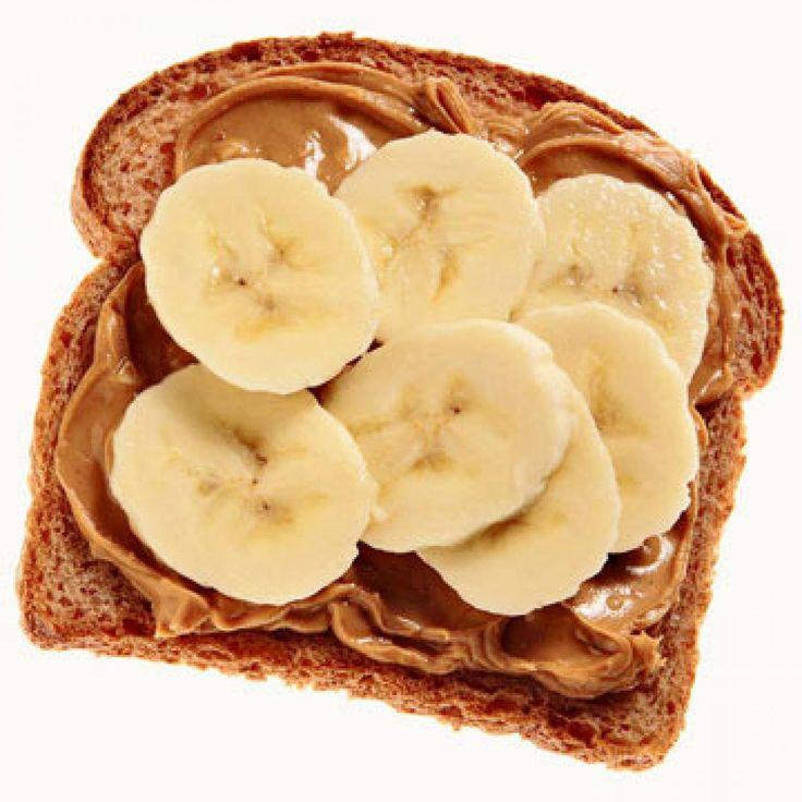 Before: Whole Wheat Toast with Sliced Banana and Cinnamon - Fitnessmagazine.com