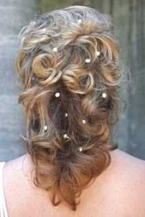 bridal hairstyles medium-length hair half open – www.promifrisuren