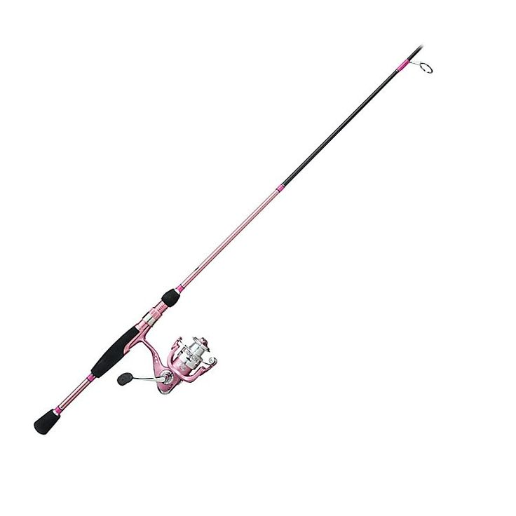 Bass pro shops lady lite rod and reel spinning combos for Bass pro shop fishing rods