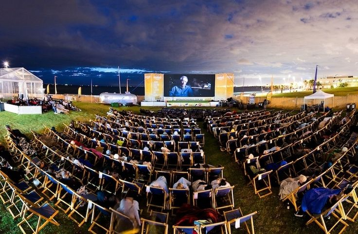 Ben & Jerry's Openair Cinemas - this is only open for 1 month out of the year. Hopefully I get a chance to go next year.