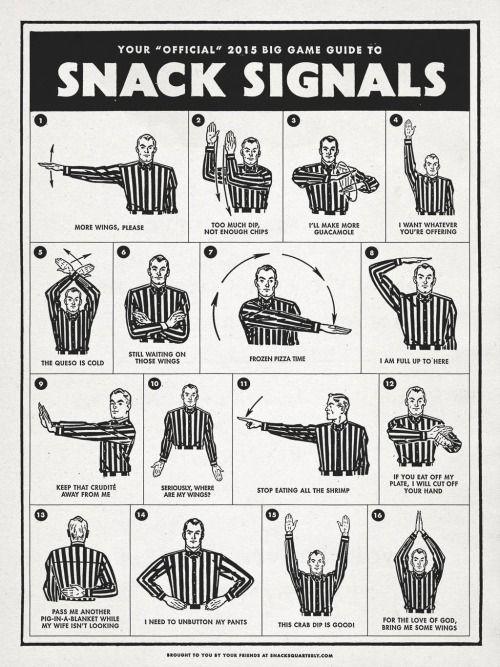 Snack signals