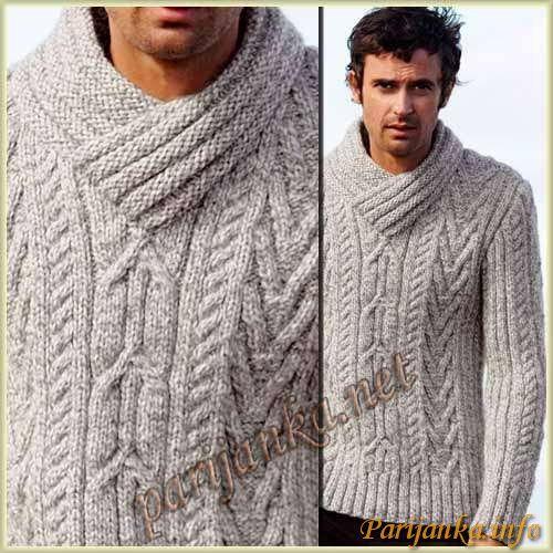 Пуловер (м) 152 Creations 09/10 Bergere de France №2496