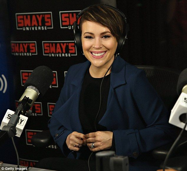 Milano's project! Alyssa talked on the 'Sway in the Morning' with Sway Calloway on Eminem's Shade 45 to promote her Project Runway All Stars reality show