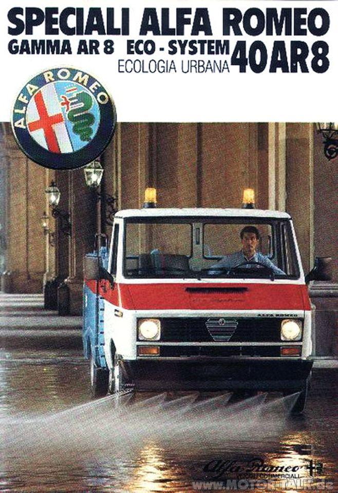 Alfa Romeo 40AR8 Gamma - brochure