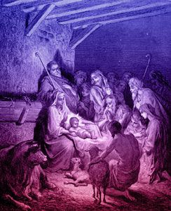 Jesus' Birth. Came to redeem us from sin that God has done in eternity pass.