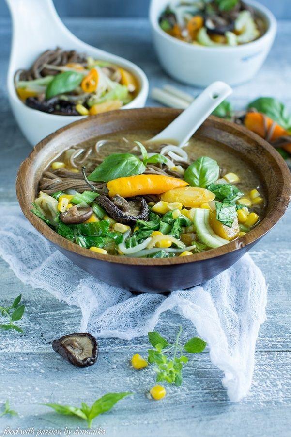 Zupa miso z dynią