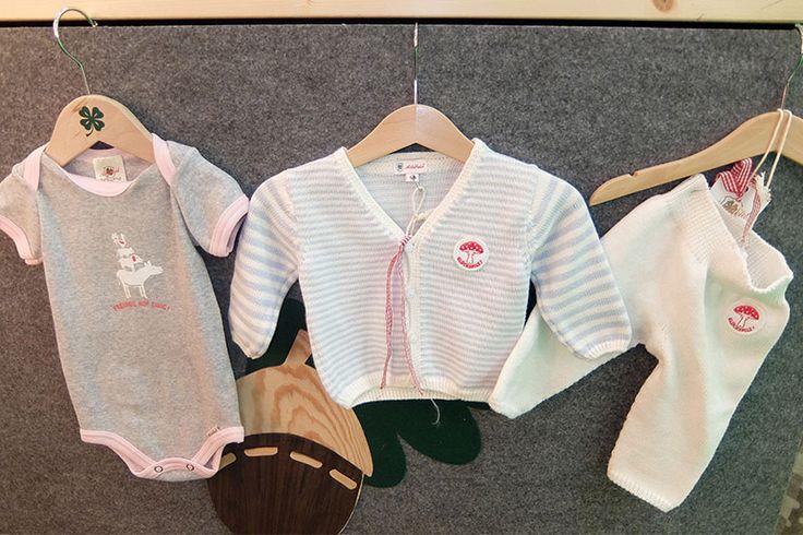 Mein Liebslingsstücke auf der Nordstil: Bio-Babykleidung Made in Germany von Adelheid