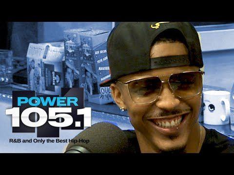 August Alsina Interview at The Breakfast Club Power 105.1 (09/16/2014)