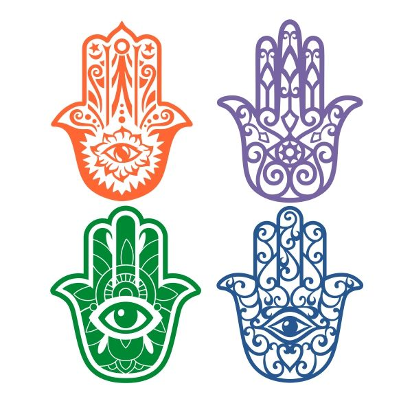 Hamsa Hands Cuttable Design Cut File. Vector, Clipart, Digital Scrapbooking Download, Available in JPEG, PDF, EPS, DXF and SVG. Works with Cricut, Design Space, Cuts A Lot, Make the Cut!, Inkscape, CorelDraw, Adobe Illustrator, Silhouette Cameo, Brother ScanNCut and other software.