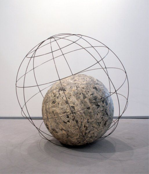 Michelangelo Pistoletto, Globe (minus objects), 1966-1968